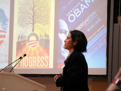 Nancy Scola relays the American experience during 2008 Presidential elections
