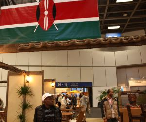Kenya's stand at the ITB in Berlin
